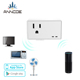 2 pack American US USB wall smart socket electrical outlet switch wifi plug socket with alexa google assistant