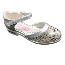 stylish silver sparkle dance shoes Girls twinkle Wedding Party shoes elegant charming diamond shoessilver sparkle butterfly danc