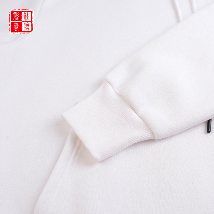 OEM accept customized no name plain thick cheap white hoodies wholesale