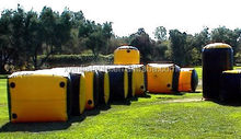 inflatable bunker for Tournament paintball game
