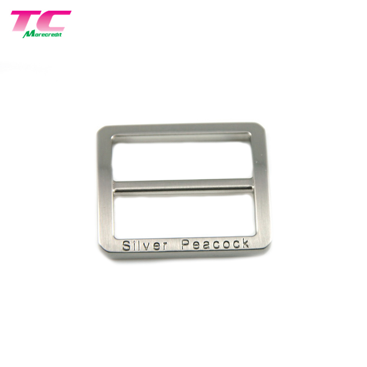 Metal Triangle Sewing Custom Clothing Label Tags Swimwear Logo Tag Metal Label For Hat