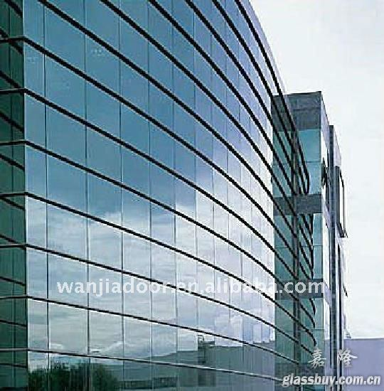 New Design Structural Glass Curtain Wall - Buy Structural Glass ...