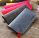 Least MOQ High Quality Custom Logo Eyeglasses Bag Durable Felt Glasses Case From China Factory