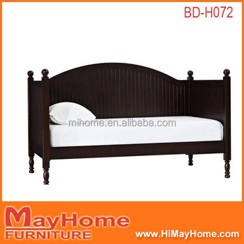 arc design back tall legs black divan bed design buy