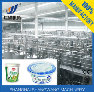 Best price cheese/butter/yogurt production line /mini yogurt processing plant on sale