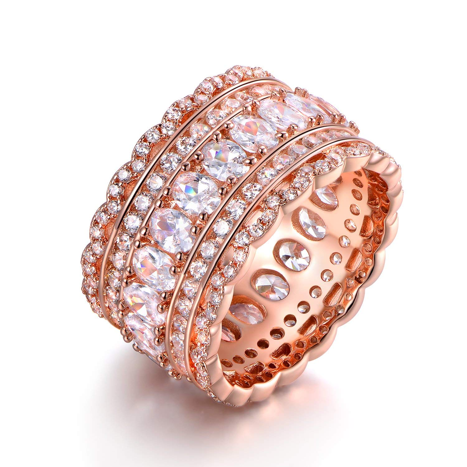 Cheap Rose Gold Cubic Zirconia Ring, find Rose Gold Cubic Zirconia ...