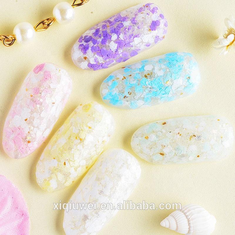 Wholesale Price Marshmallow Powder For Nail Art/Nail Gel Polish Use