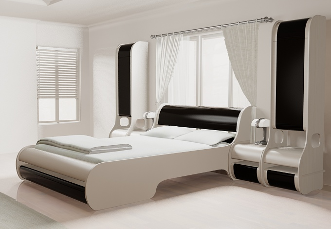 New Style Bedroom Bed Design Digihome  New Style Bedroom Bed Design Digihome. New Bed Design