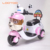 Cheap battery powered 4 wheel ride on toy bike children electric motorbike for 3 6 year old