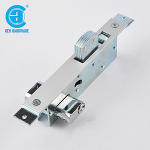 High security iron cylinder latch gate door mortise lock body