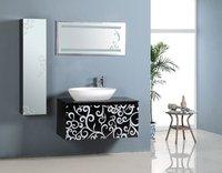 Wall Mounted Lowes Bathroom Vanity Cabiet Modern Waterproof Bathroom Furniture