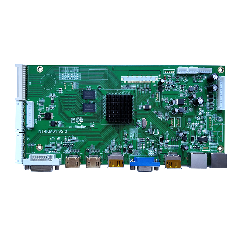 Video Wall LCD controller board support DVI+2HDMI+VGA+DP IN+DP LOOP Out+2RJ45 LCD controller board