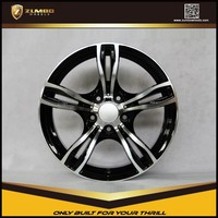 ZUMBO F1985 Black Machine Face Car Alloy Wheel Rims Suitable For BMW
