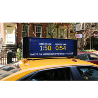 Digit Advertising Video Light P5 HD Taxi Top 5200 Nits LED Video Display