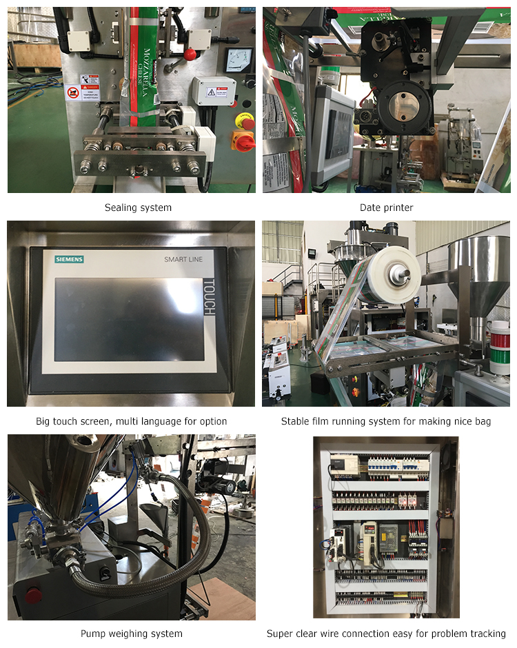 Soybeans Coconut Oil Filling And Packing Machine