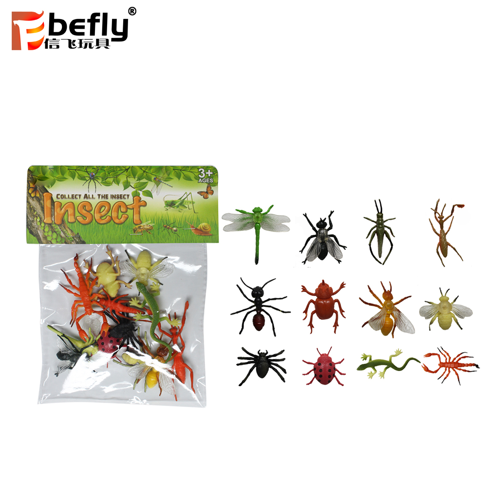 2019 new promotional educational catch bug game gift plastic toy for children