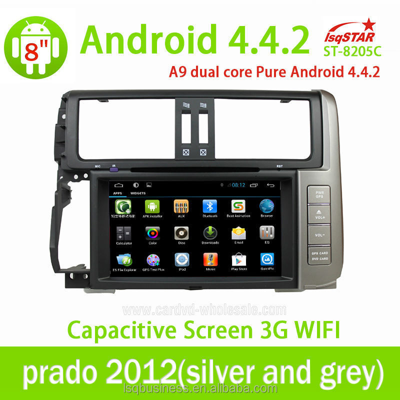 ANDROID 4.4 CAR DVD GPS NAVIGATION FOR <strong>TOYOTA</strong> <strong>PRADO</strong> 120 SUPPORT WIFI 3G BLUETOOTH GPS