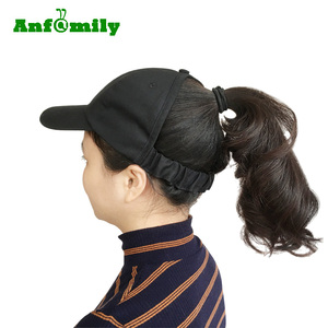 2019 New Women Pony Tail Backless Cap Empty Top Hat Open Toe Ponytail baseball caps