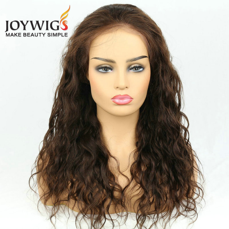 Human Hair Lace Wigs Punctual Allrun Human Hair Wigs With Bangs Malaysia Ocean Wave Brazilian Human Hair Wigs Non Remy Hair Short Wigs Full Machine Natural Sale Price