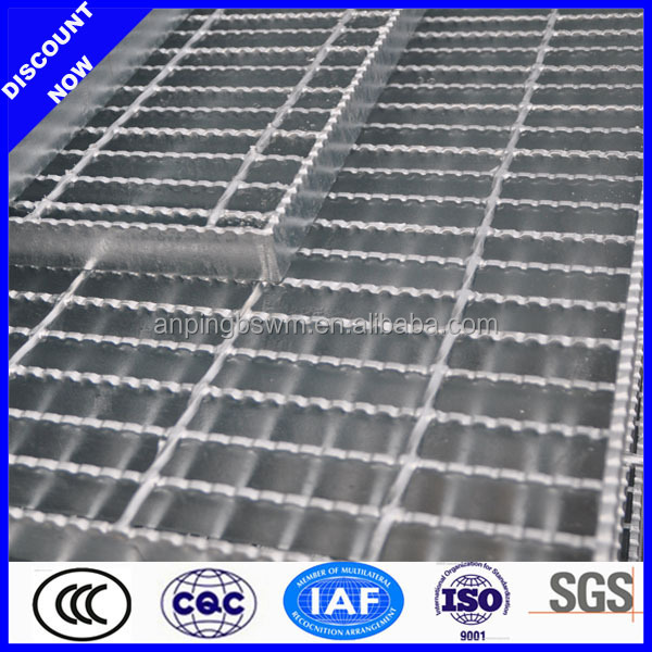 stock 316 material stainless steel grating for construction with various sizes
