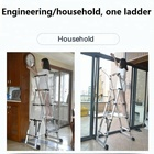 EN131 Multi-purpose multiple position aluminum folding step ladder