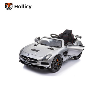 Mercedes Benz Sls Amg License Ride On Car Made In China 12v Electric Toys