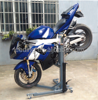 how to make a motorcycle stand