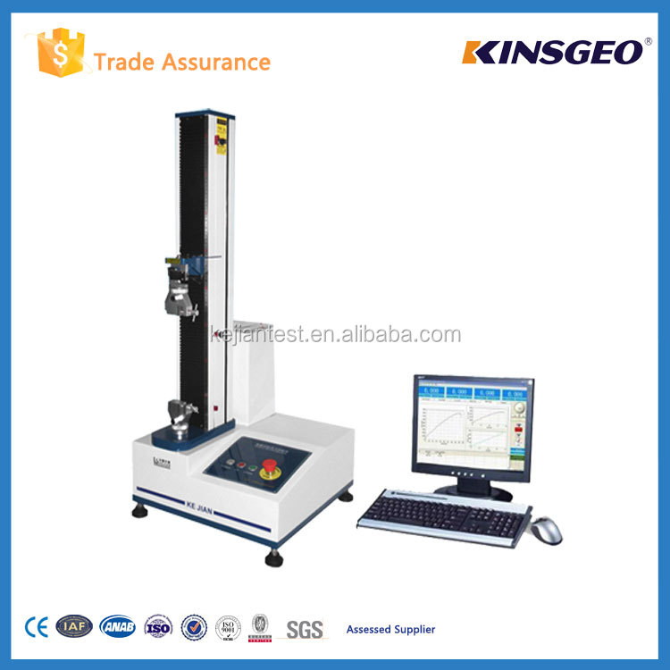 Horizontal used tensile testing machine can perform shearing&spliting strength test with different clamps