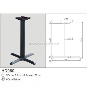 Black cross cast iron table leg base buy cast iron table legcast black cross cast iron table leg base watchthetrailerfo