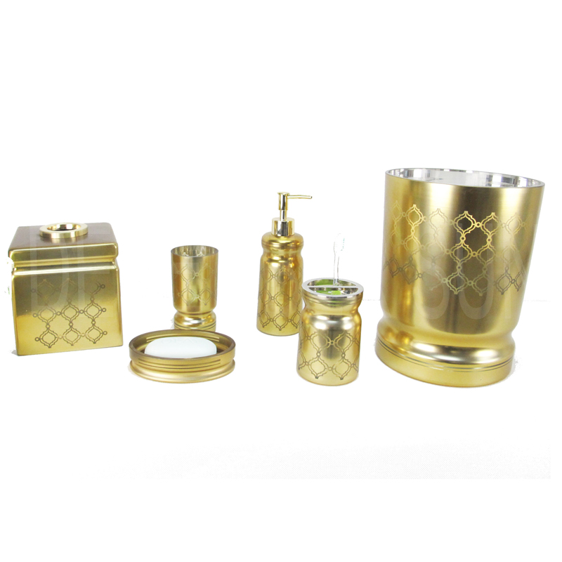Gold Plated Bathroom Accessories Gold Plated Bathroom Accessories - Copper coloured bathroom accessories