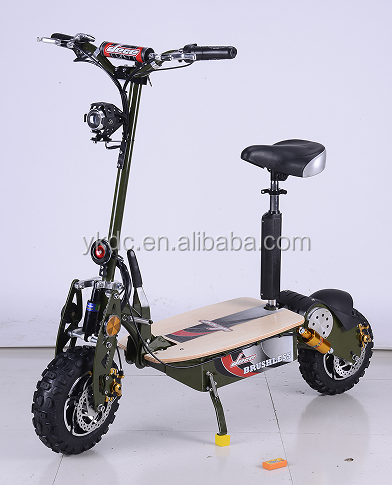 60V 2000W powerful electric scooters with single seat