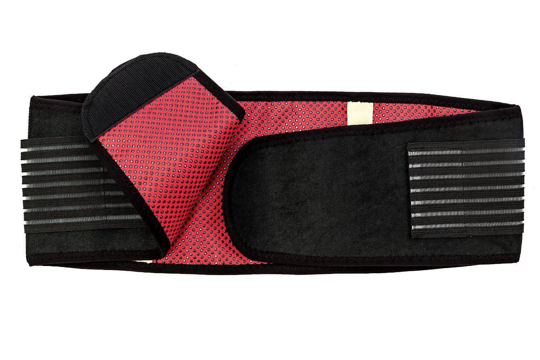NU Waist Belt - Weight Loss Belt As Workout Equipment Stomach Fat Burner or Belly Fat Belt Burner, Waist Slimmer , Fat Reducer & Waist Support - Fat Burning Belt and Back Support to Relieve Back Pain