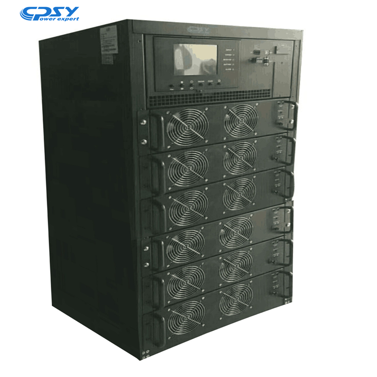 Professional manufacturer high quality 60KVA / 60KW dsp technology modular ups