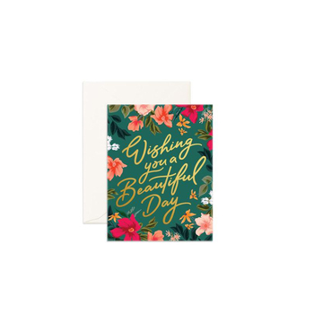 Happy Birthday Wishes Daughter Greeting Card With Envelope