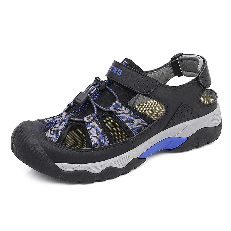 da378fb22 US 9M Teva TORIN Gray Tan Sport Sandals Shoes Water Hiking Rafting EU 4 US   32.99. N.DENG Men s Outdoor Hiking Shoes Outdoor Shoes Hiking Sandals  Trekking ...