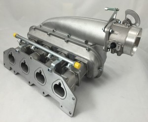 cnc machining brass custom ls3 intake manifold engine by your drawing