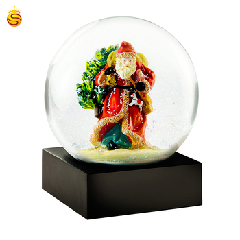 3D Photo Empty Snow Globe With snowball for souvenir
