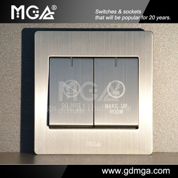 MGA Q9 Series Modern Electrical Switcheshotel Doorbell Switch
