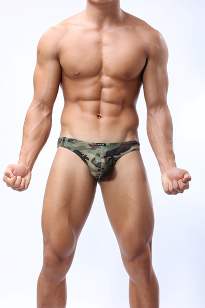 Hot 2 pcs/ lot Mens Underwear Nylon Boxers addicted shorts men fashion marcaspant for men gay cuecas Camouflage Colors (J-71)