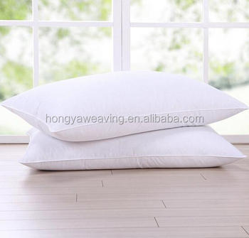 Goose Feather And Down Pillow Standard Size Bed Pillows
