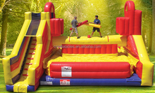 hot sale inflatable battle zone /inflatable sports games