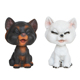 Hot sale funny resin cat figurine polyresin bobble head toy cat statue