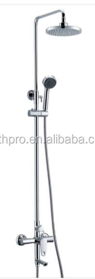 Hot sale rainall shower head wall mounted shower set