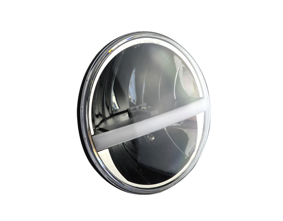 MC-7030 7 inch 30W High/Low Halo Ring LED Head Light