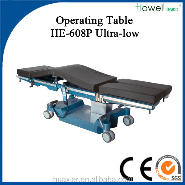 Distributors Wanted Universal Electro Hydraulic OR Table with Ultra Low Height/Neurosurgery Equipment / O.T. Tables
