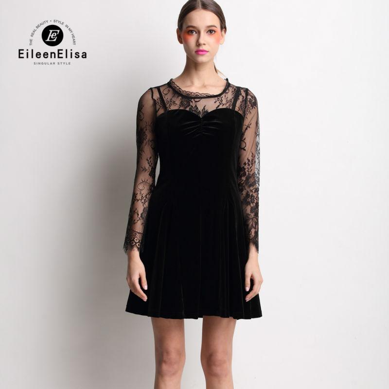 Черное платье от известных марок