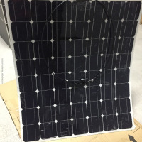Best Price High Efficiency Per Watt Flexible Solar Panel 150W 200W 250W 12V 24V 48V China Manufacturer