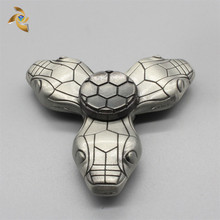 Factory Wholesale snake metal fidget spinner