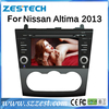 ZESTECH wholesales 2 Din Touch screen Car gps for Nissan Altima Car gps dvd radio 2013-2014