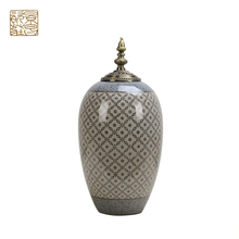 Exquisite Kwaliteit Inn Hotel decoratie keramische chinese traditionele porselein jar